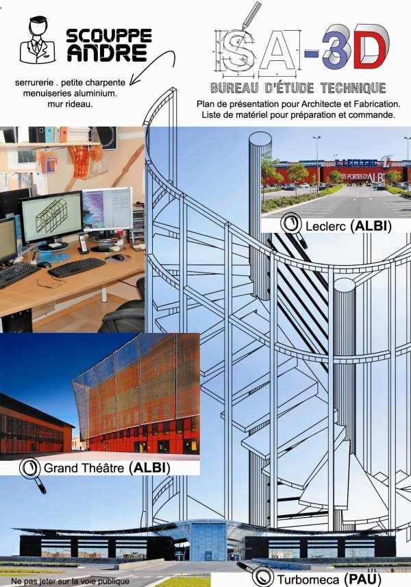 Bureau d 39 tude serrurerie menuiserie - Architecte bureau d etude ...